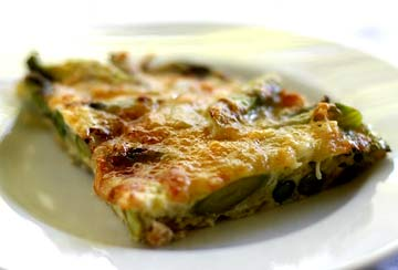 Simple Brunch: Asparagus Frittata