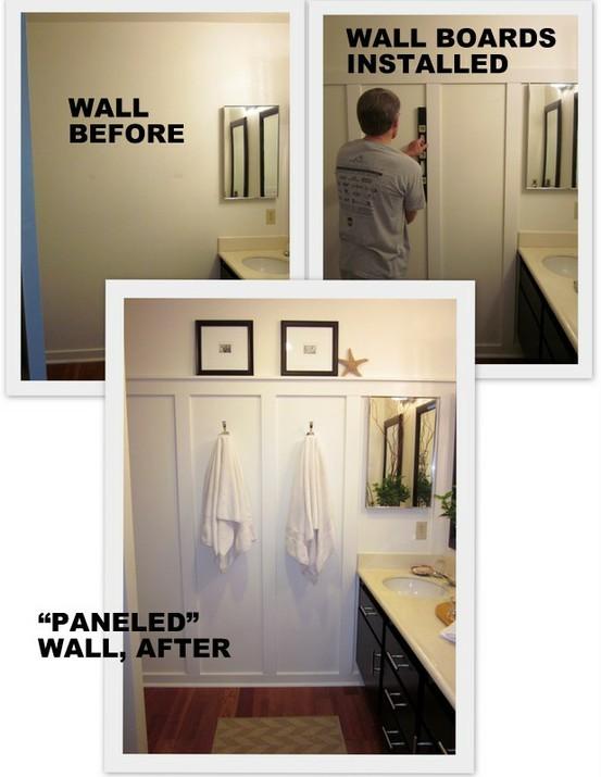 DIY: Classy Wall Paneling | Resourceful Girl